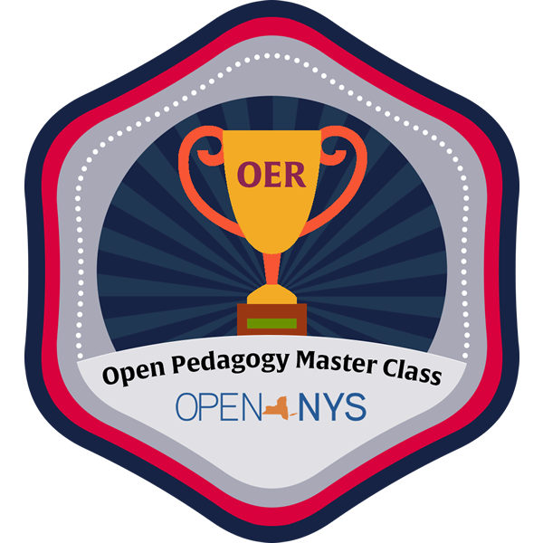 master pedagogy badge
