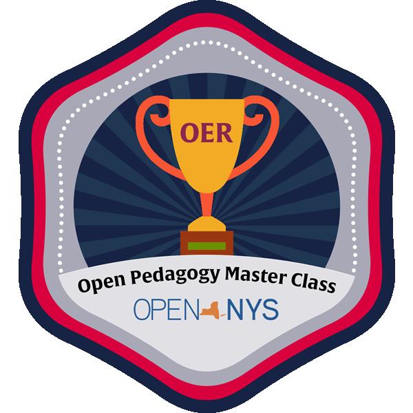 master pedagogy badge